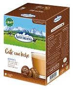 Caja cápsulas café con leche