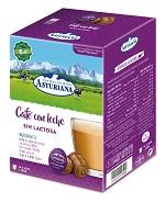 Caja capsulas café con leche sin lactosa