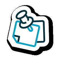 Logo chincheta influencers