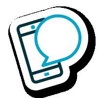 Logo móvil influencers